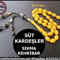 SIKMA KEHRİBAR 8*12 mm SÜT KARDEŞLER Ürün Kodu: TM5965