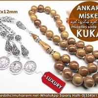 Özel İşçilik Özel Gümüş Püskül Müselles Sade Kuka Tesbih Ankara Misketi Ürün Kodu: TM8158