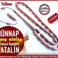 Tesbih Katalin Kapsül Kesim Karam Karamel Hünnap(TM11378)